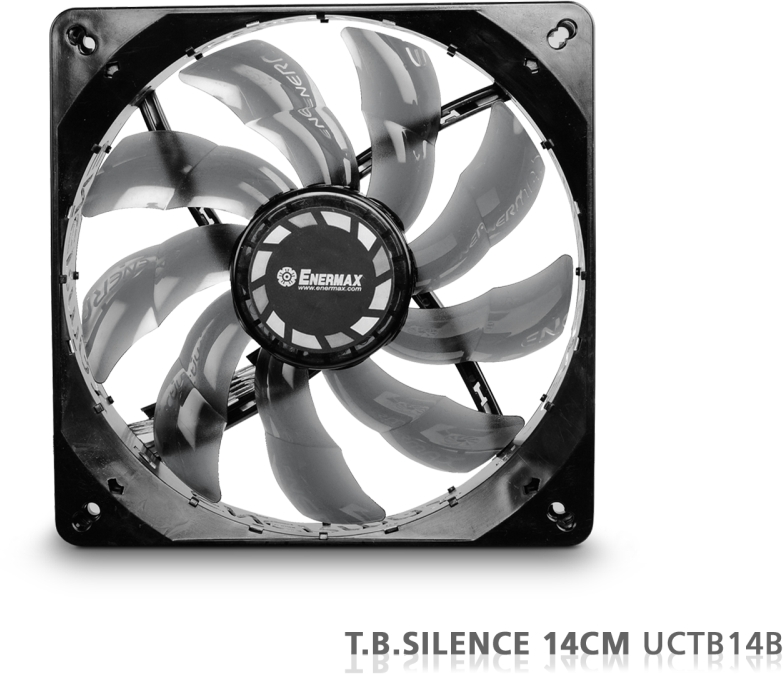 PC- Gehäuselüfter Enermax T.B.Silence UCTB14B