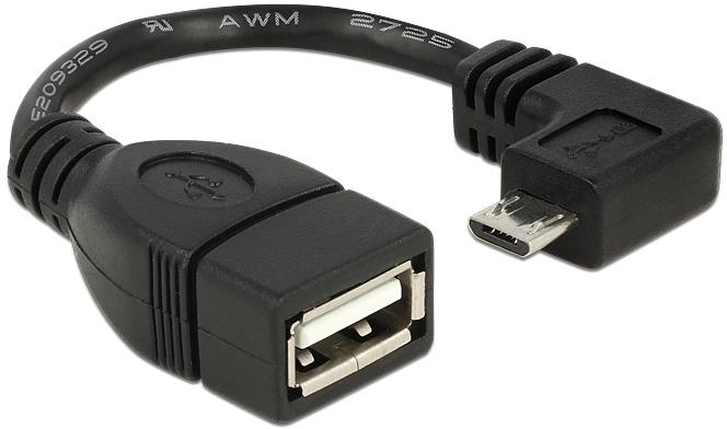 Adapter DELOCK USB Stecker (W) auf microUSB Typ B (M)