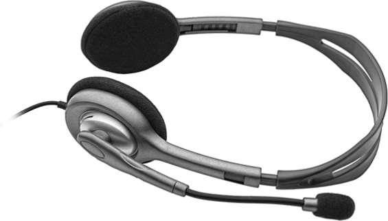 Headset Logitech H111 (981-000593)