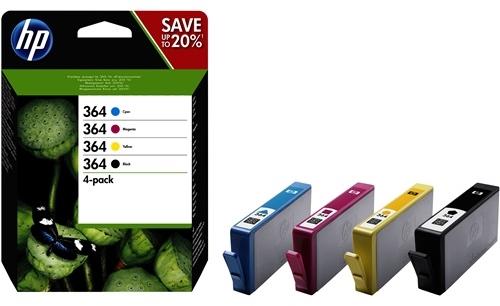 HP Tinte 364 4er Pack N9J73AE