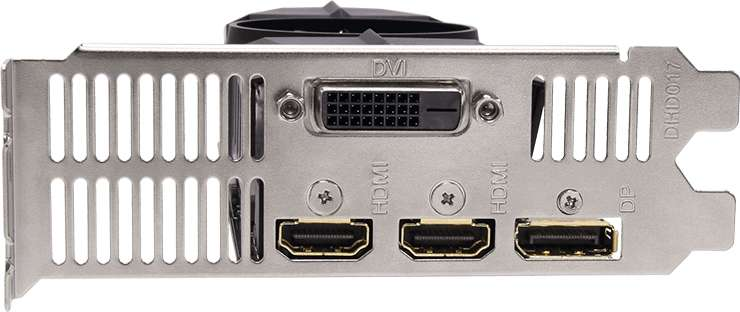 VGA Gigabyte GeForce® GTX 1050 2GB OC Low Profile 2G