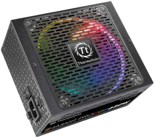 PC- Netzteil Thermaltake SMART PRO RGB 650W 80+ Bronze