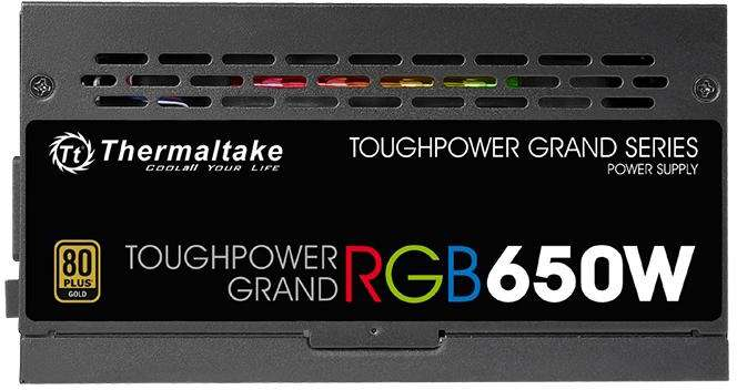 PC- Netzteil Thermaltake Toughpower Grand RGB 650W 80+ Gold