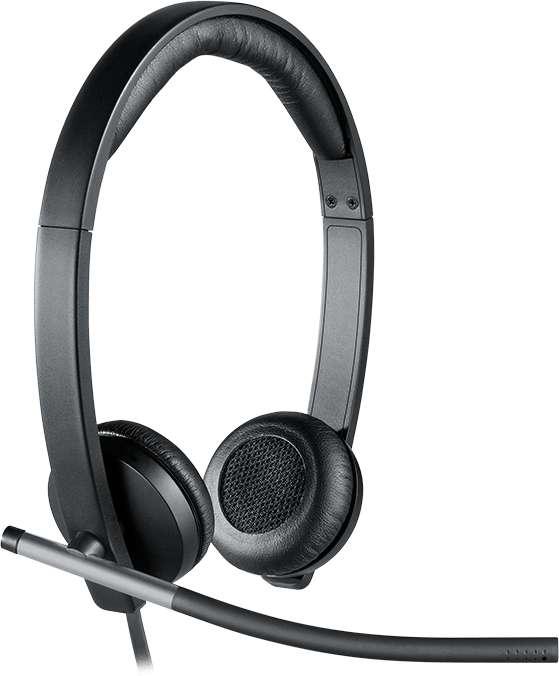 Headset Logitech H650e Stereo (981-000519)