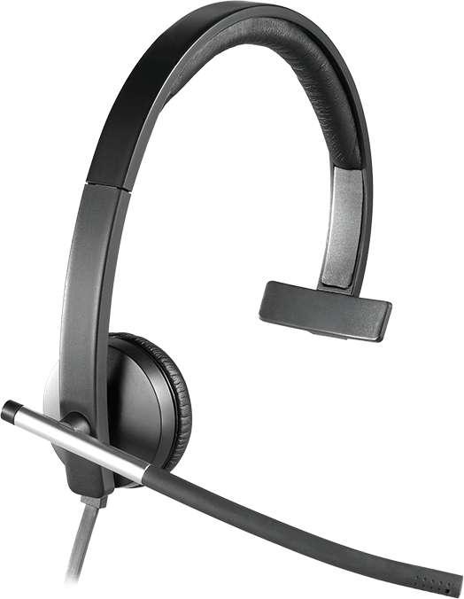 Headset Logitech H650e Mono (981-000514)