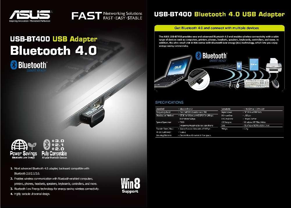Asus Netzwerkadapter USB-BT400