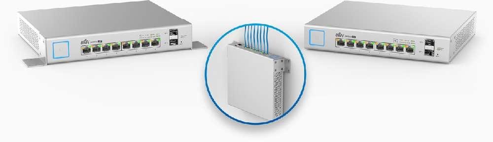 UbiQuiti Unifi Switch 8-port 10/100/1000 US-8-150W