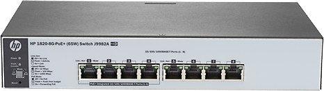 HP Switch 1820-8G 4-port 10/100/1000 J9982A