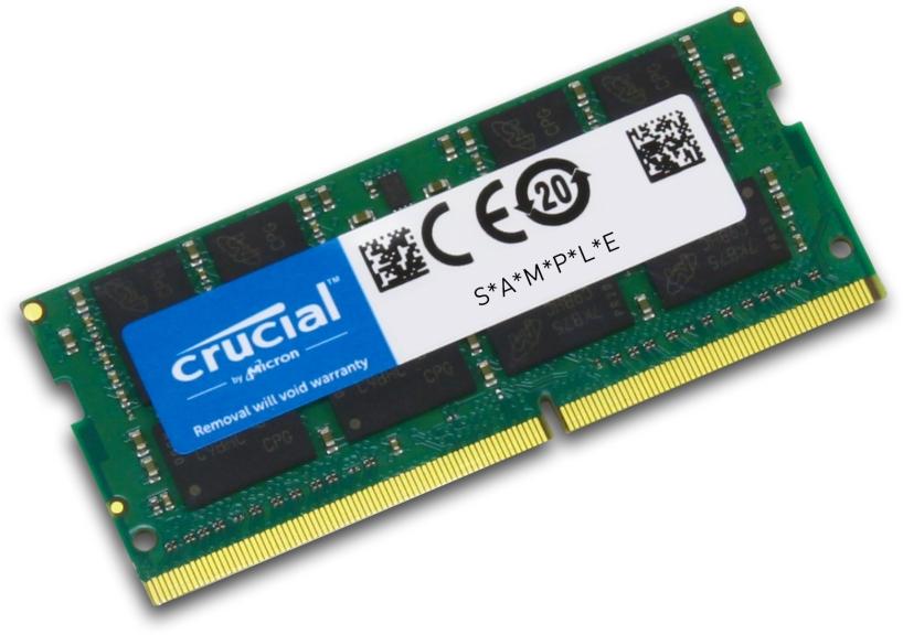S/O 8GB DDR4 PC 2400 Crucial CT8G4SFS824A  1x8GB