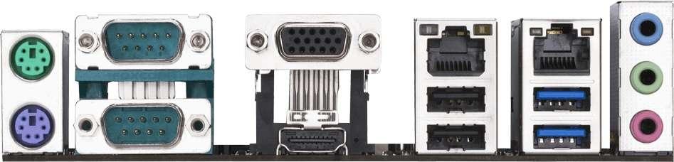 Gigabyte GA-J3455N-D3H (Rev. 1.0) (Intel CPU onboard) (D)