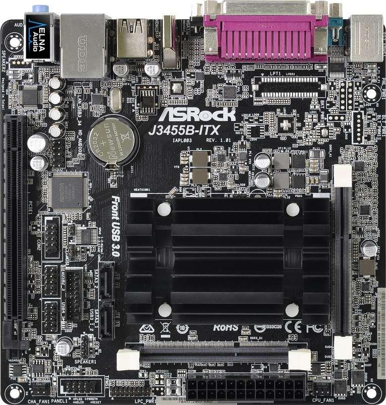 ASROCK J3455B-ITX (Intel CPU onboard) (D)