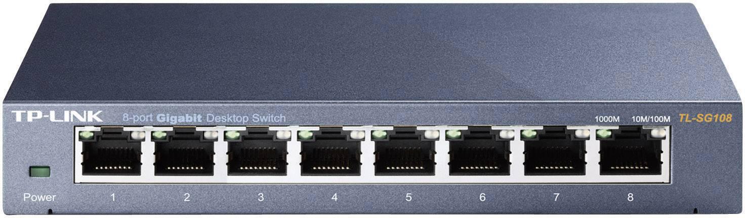 TP-Link Switcher Desktop 8-port 10/100M/1000M TL-SG108 V3
