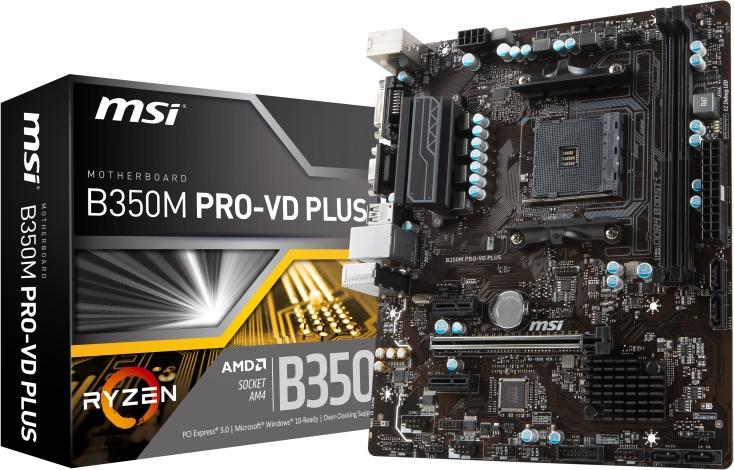 MSI B350M PRO-VD PLUS (D)