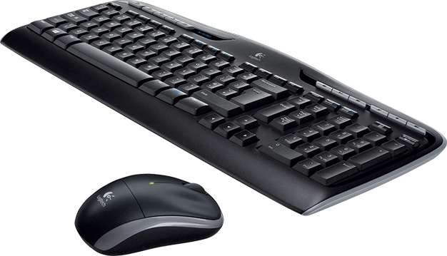 Keyboard & Mouse Logitech MK330 schwarz (920-008533)