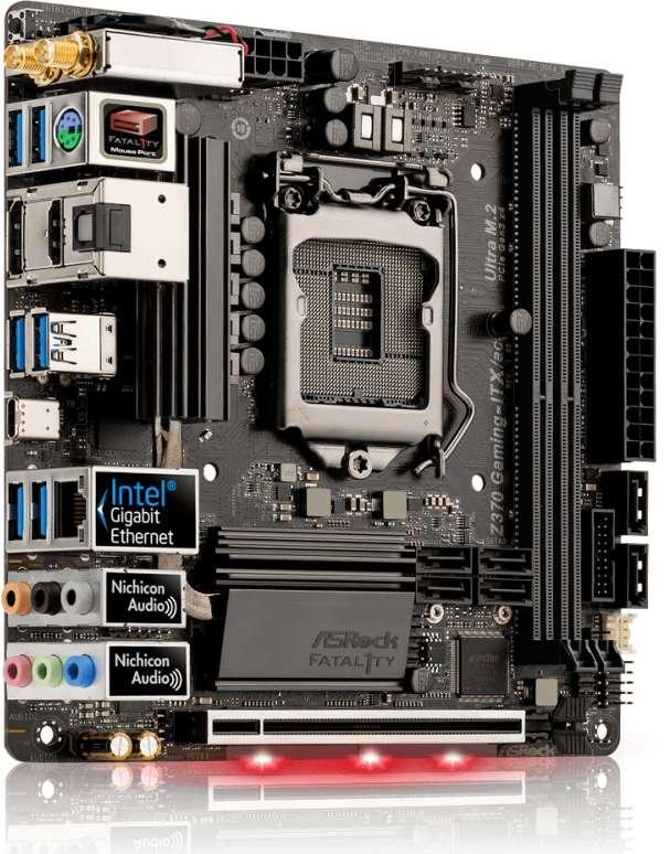 ASROCK Z370 Gaming-ITX/AC (D)