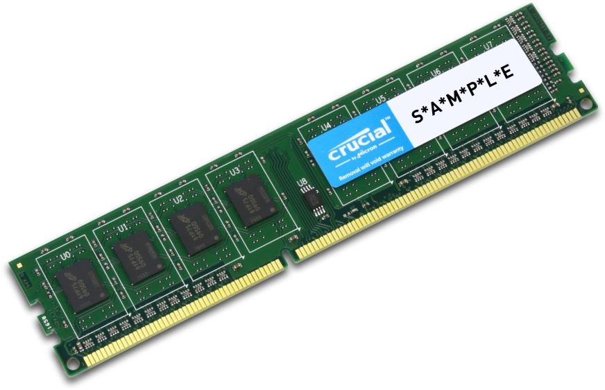 DDR4 16GB PC 2400 Crucial CT16G4DFD824A 1x16GB