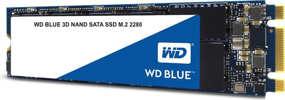 SSD WD Blue 500GB Sata3  M.2 WDS500G2B0B 3D Nand
