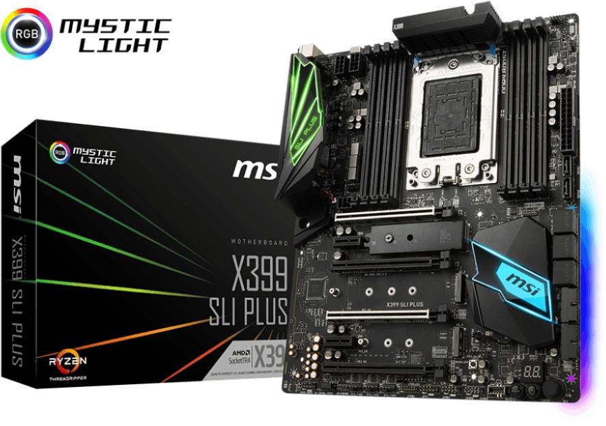 MSI X399 SLI PLUS (D)