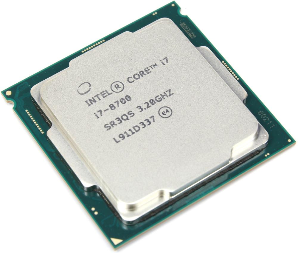 Intel Tray Core i7 Processor i7-8700 3,20Ghz 12M Coffee Lake