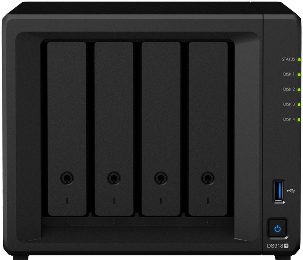 NAS Server Synology DiskStation DS918+
