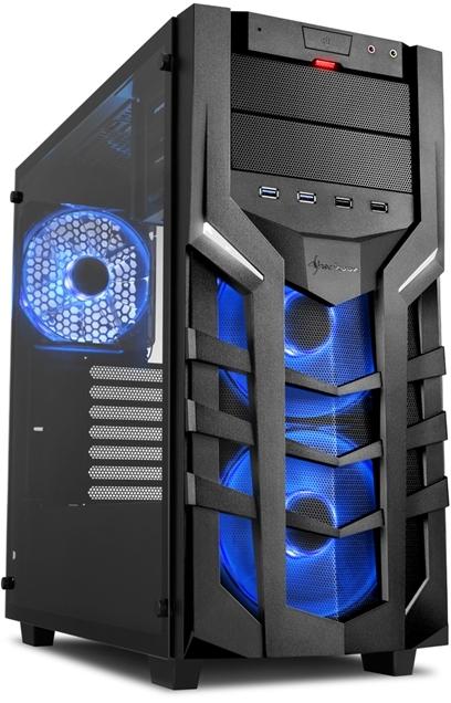 PC- Gehäuse Sharkoon DG7000-G RGB