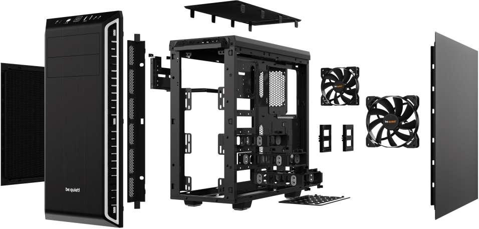 PC- Gehäuse BeQuiet Pure Base 600 - silber