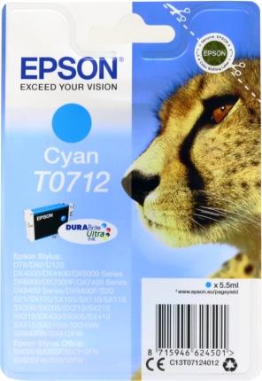 Epson Tinte Gepard cyan C13T07124012