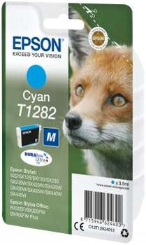 Epson Tinte Fuchs cyan C13T12824012