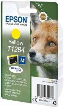 Epson Tinte gelb C13T12844012
