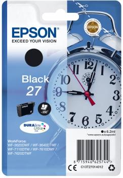 Epson Tinte Wecker schwarz C13T27014012