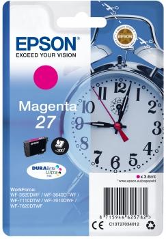 Epson Tinte Wecker magenta C13T27034012