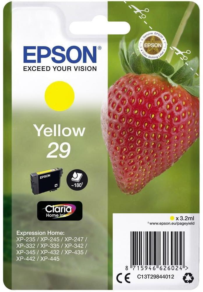 Epson Tinte Erdbeere gelb C13T29844012