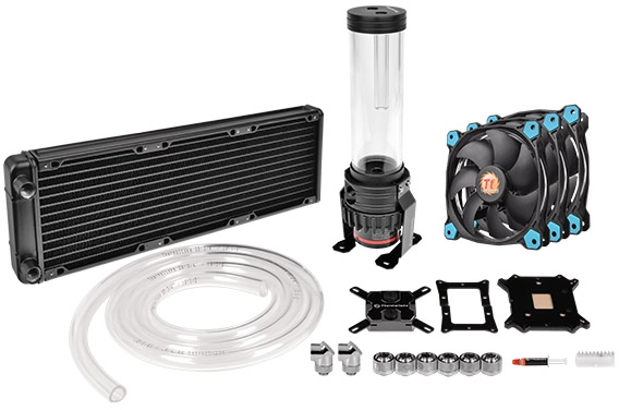 Cooler Thermaltake Pacific R360 D5 Soft Tube LCS Kit