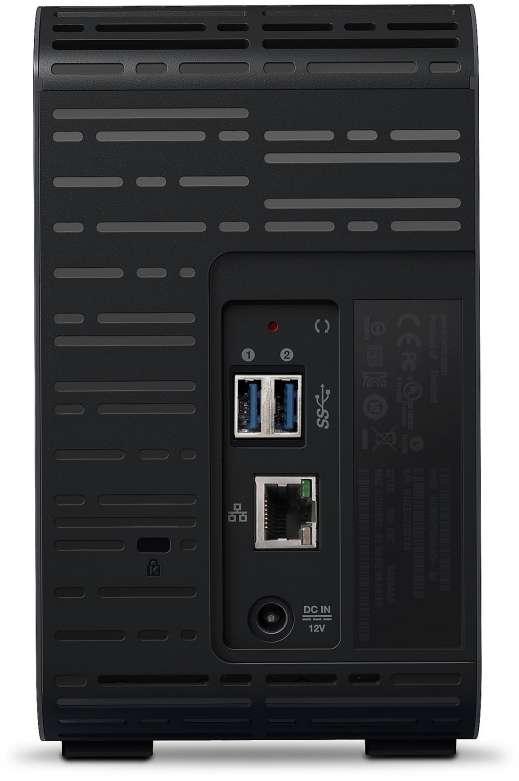 NAS Server WD 16TB My Cloud EX2 Ultra WDBVBZ0160JCH-EESN