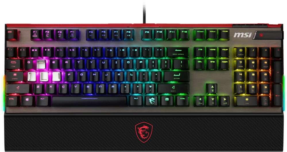 Keyboard MSI Vigor GK80 CR DE - GAMING