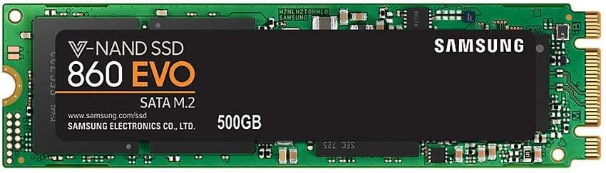 SSD Samsung 860 EVO M.2 500GB MZ-N6E500BW SATA3                                                                                                      SSD Samsung 850 EVO M.2 500 GB MZ-N5E500BW SATA3