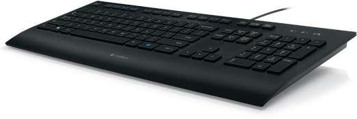 Keyboard Logitech K280e schwarz (920-008669)