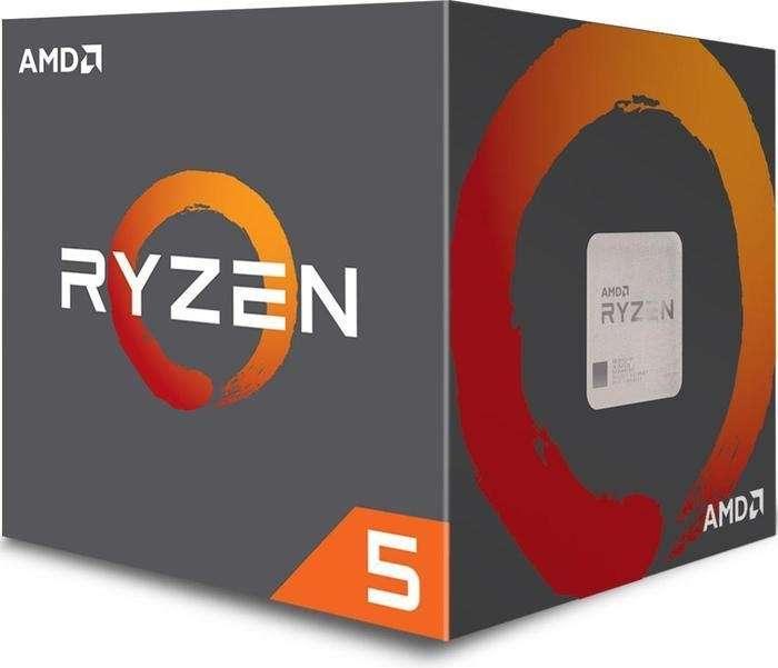 AMD Ryzen 5 2600X Box AM4 (4,250GHz) YD260XBCAFBOX with Wraith Spire cooler