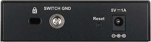 D-Link Switch EasySmart 5-port 10/100/1000 DGS-1100-05/E