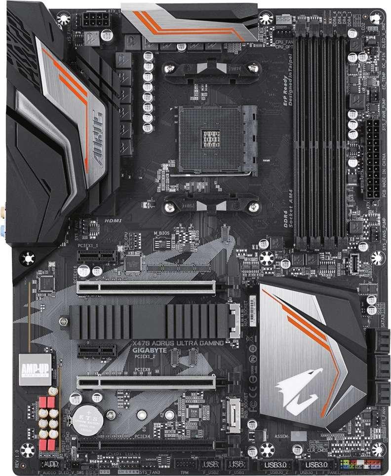 Gigabyte GA-X470-Ultra-Gaming AORUS (REV 1.0) (D)