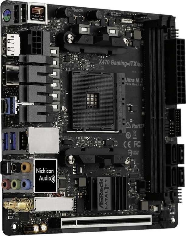 ASROCK X470 Gaming-ITX/ac (D)