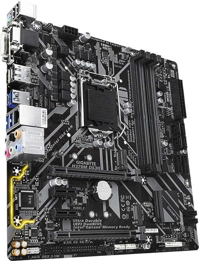 Gigabyte GA-H370M-DS3H (1151v2) (D)