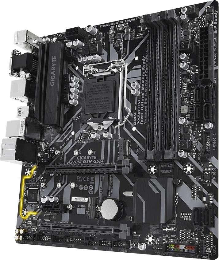 Gigabyte GA-H370M-D3H GSM (1151v2) (D)