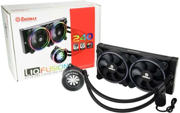 Cooler Enermax Liqfusion ELC-LF240-RGB Wasserkühlung