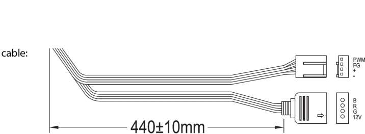 PC- Gehäuselüfter XILENCE Performance A+ Serie fan 120 mm, RGB LED, XPF120RGB