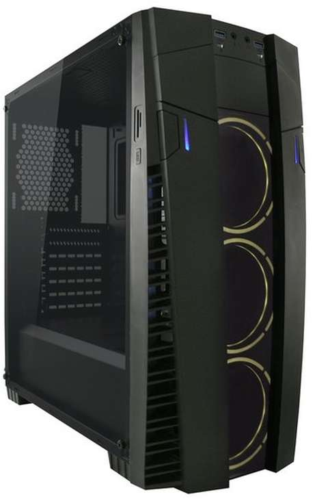 "PC- Gehäuse LC Power Pro-Line Gaming 992B ""Solar-Flare"""