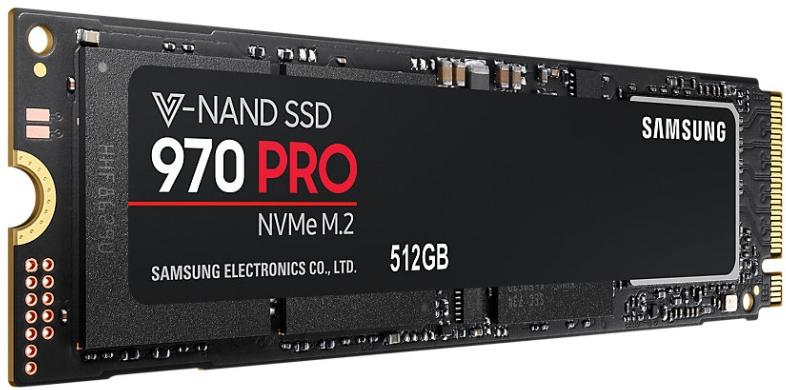 SSD Samsung 970 Pro M.2 512GB NVMe MZ-V7P512BW PCIe