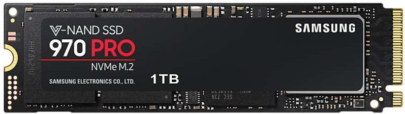 SSD Samsung 970 Pro M.2 1TB NVMe MZ-V7P1T0BW PCIe