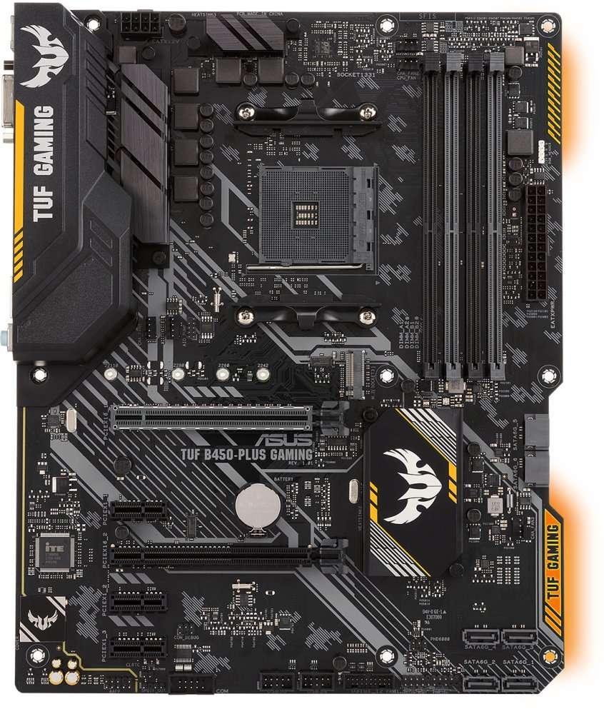ASUS TUF B450-PLUS Gaming (AM4) (D)