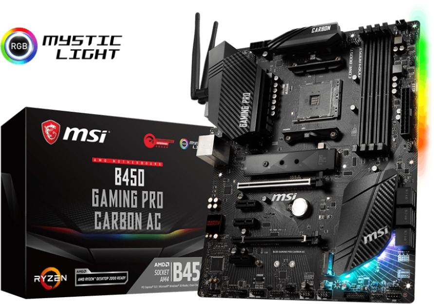 MSI B450 GAMING PRO CARBON AC (AM4) (D)